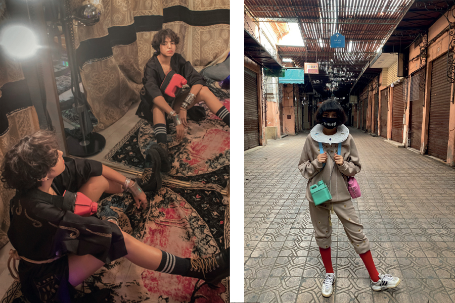 Feels like teen spirit: looks by FTA Prize 2020 and 2021 finalist Zakaria Bendriouich